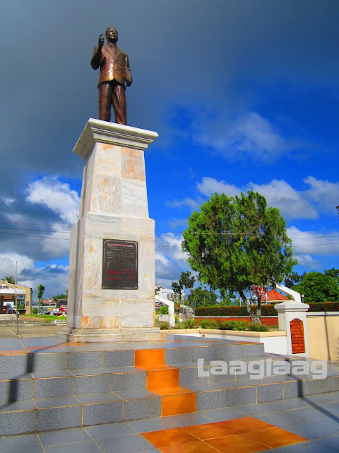 Monument of Godofredo Peralta Ramos, the Father of Aklan