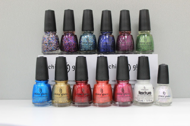 China Glaze 2013 Christmas - Happy HoliGlaze collection!