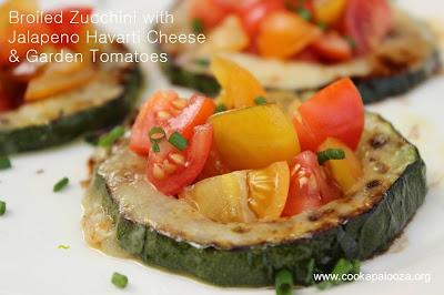 broiled zucchini recipe