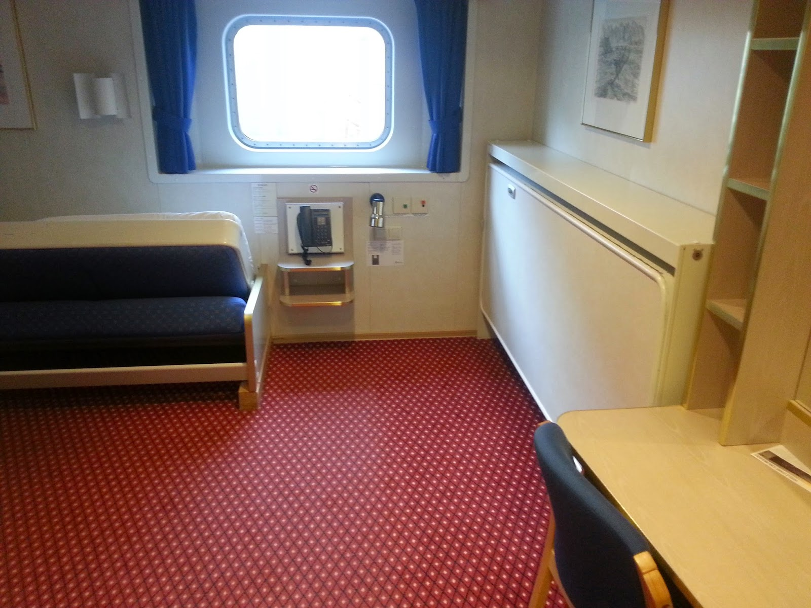 Hurtigruten MS Richard With - Wheelchair Accessible Cabin