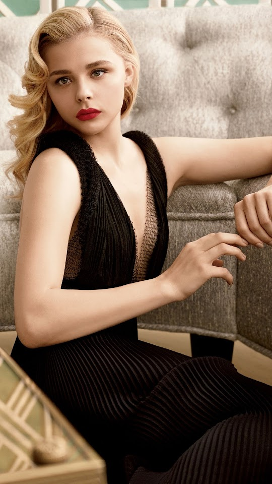 Chloe Moretz Allure 2014 Galaxy Note HD Wallpaper
