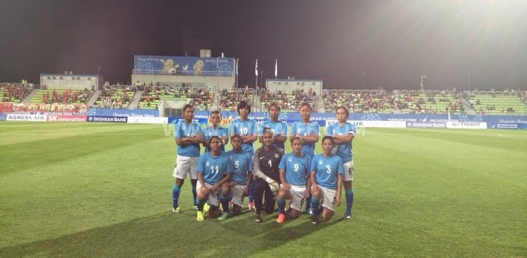 Indian Womens Team defeated by South Korea