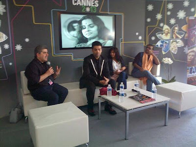 Karan Johar and Others at Bombay Talkies press conference at Cannes