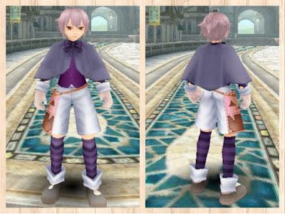 ハロウィンの衣 紫1+桃2 重量化 男
