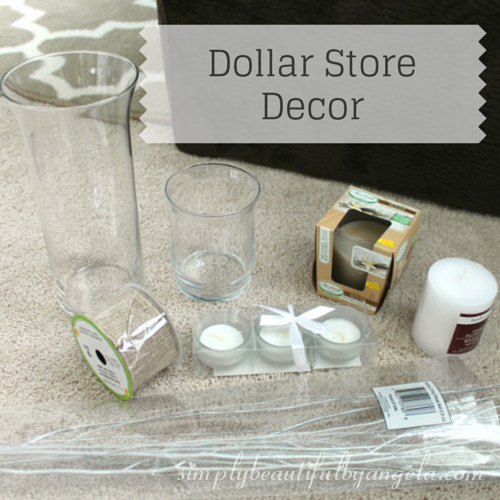 Simply beautiful by angela dollar store decor - Dollar store home decor ideas pict ...