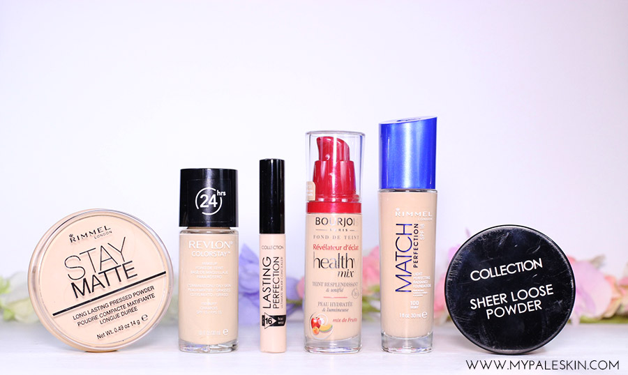 Foundations for Pale skin haul