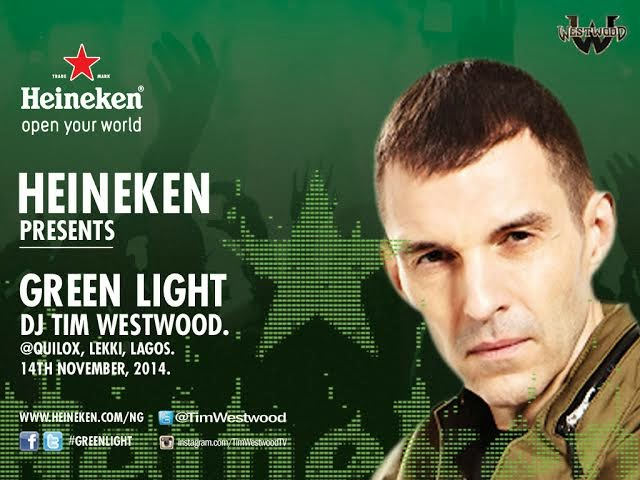 #HeinekenGreenLight Storms Lagos