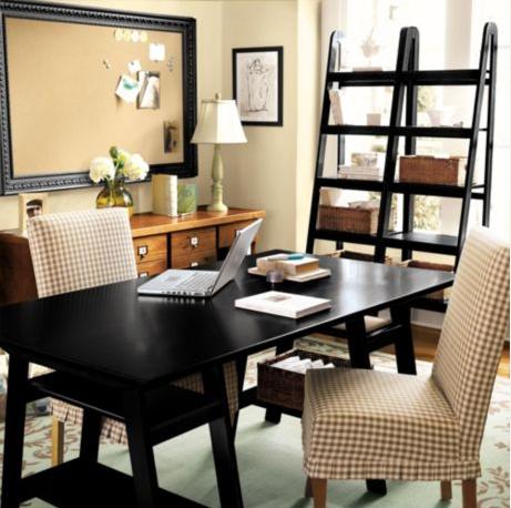 copy cat chic ballard design sawhorse desk