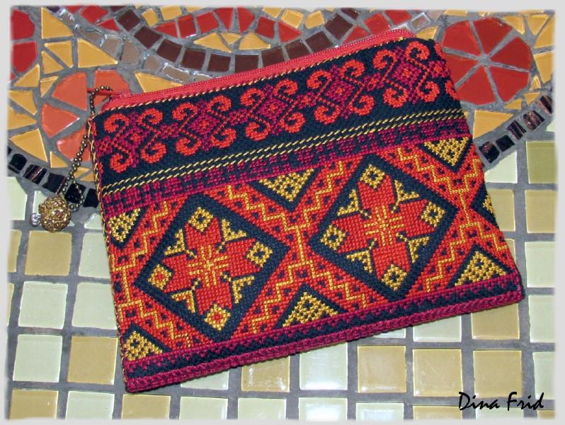 Армянские узоры вышивка