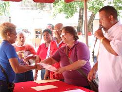 Entrega de Recursos a los Consejos Comunales del Municipio Independencia