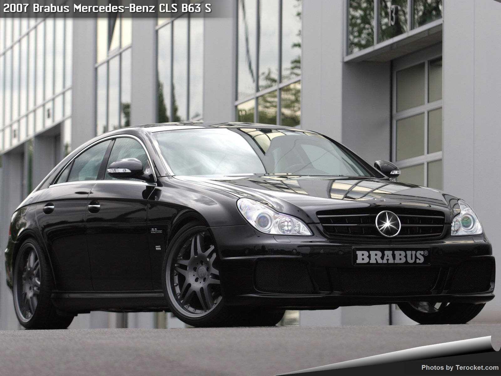 Hình ảnh xe ô tô Brabus Mercedes-Benz CLS B63 S 2007 & nội ngoại thất