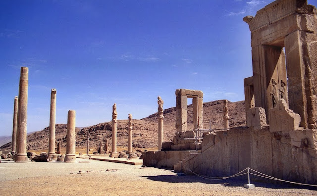 Obra maestra en Persépolis, Irán