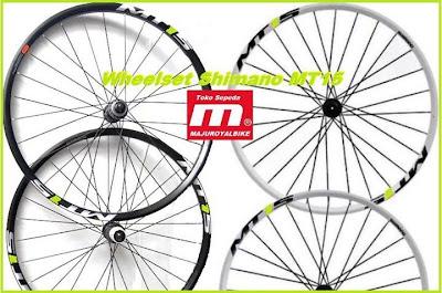 Wheelset Shimano MT15
