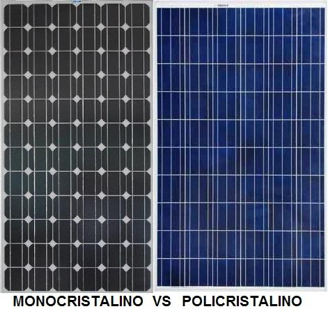 Paneles solares fotovoltaicos monocristalinos o - Tipos de paneles solares ...