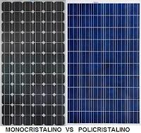 Panel solar monocristalino o policristalino, ¿cuál comprar?