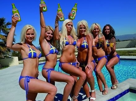 of Orient Express, presently being held captive by the Swedish Bikini Team,