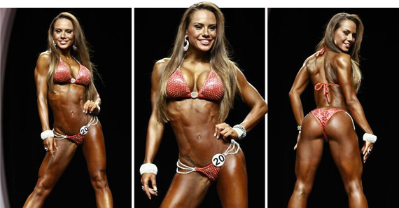 Mr. OLYMPIA 2012  // MISS BIKINE //
