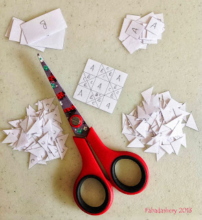 English Paper Piecing - paper templates