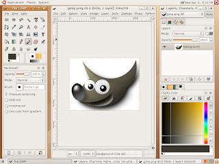 برنامج تغيير خلفية الصور download gimp