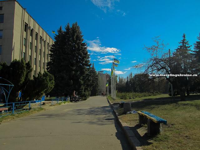 Здание Горисполкома Славянск