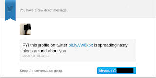 Twitter hack Direct Message (DM) bit.ly link