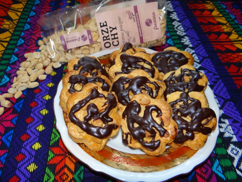 Ciastka z orzeszkami ziemnymi