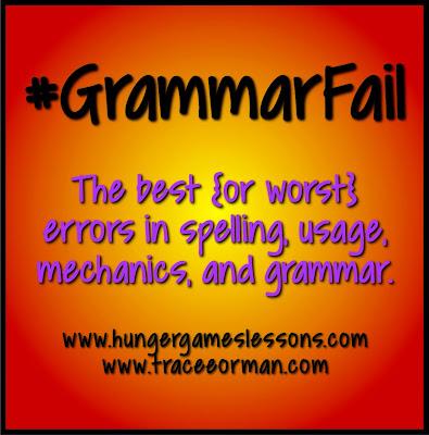 #GrammarFail Pinterest Board by www.pinterest.com/mrsorman