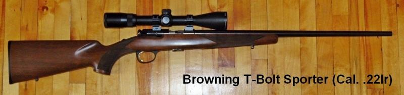 Armes à air et carabines .22lr de Picanox Browning-T-Bolt-Sporter