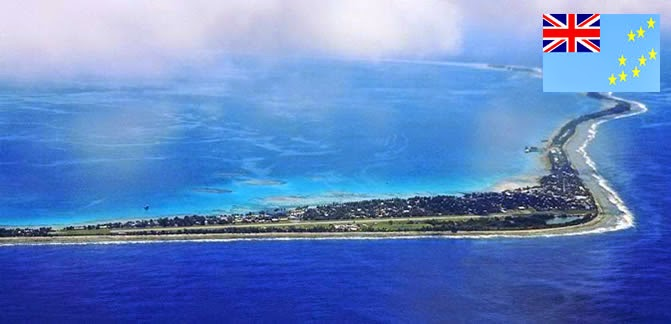 Tuvalu - smallest country ranked 4th