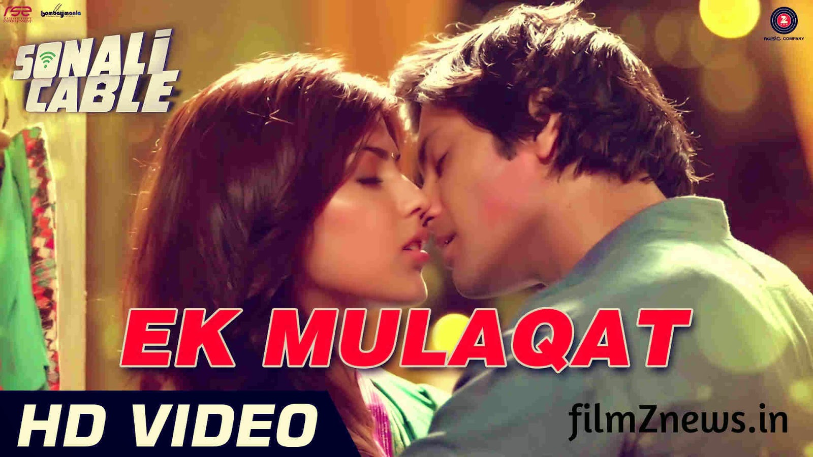 Ek Mulaqat video from Sonali Cable (2014) - Ali Fazal & Rhea Chakraborty