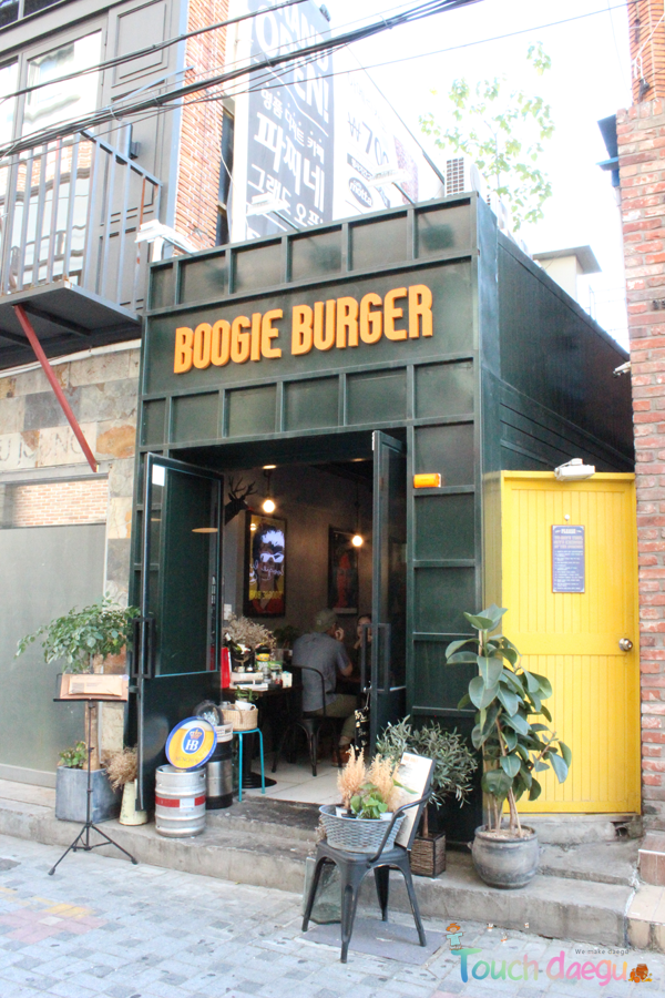 Boogie Burger at Dongseong-ro, Daegu