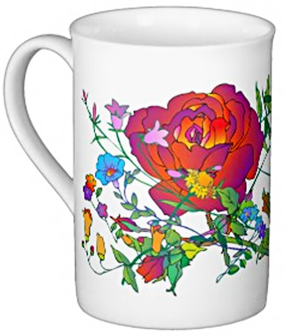 Bone China Luv Mug