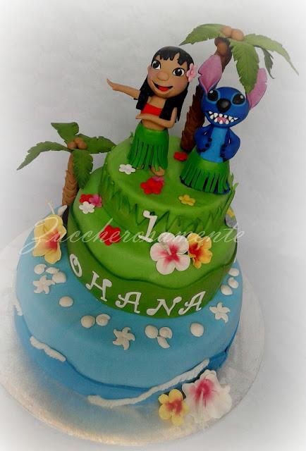 torta lilo e stitch