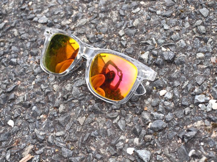 Lunettes de soleil modèle Murray Orange Usine à lunettes