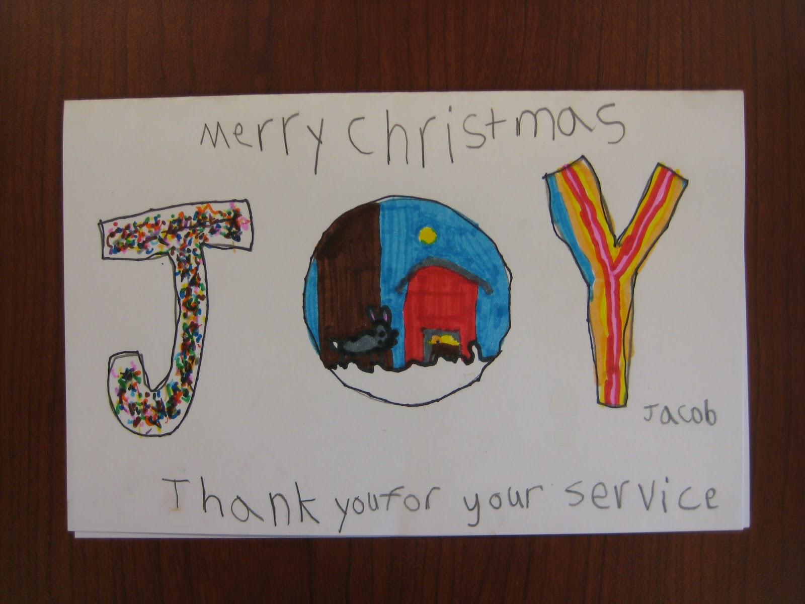 christmas cards for veterans - Christmas Cards For Veterans