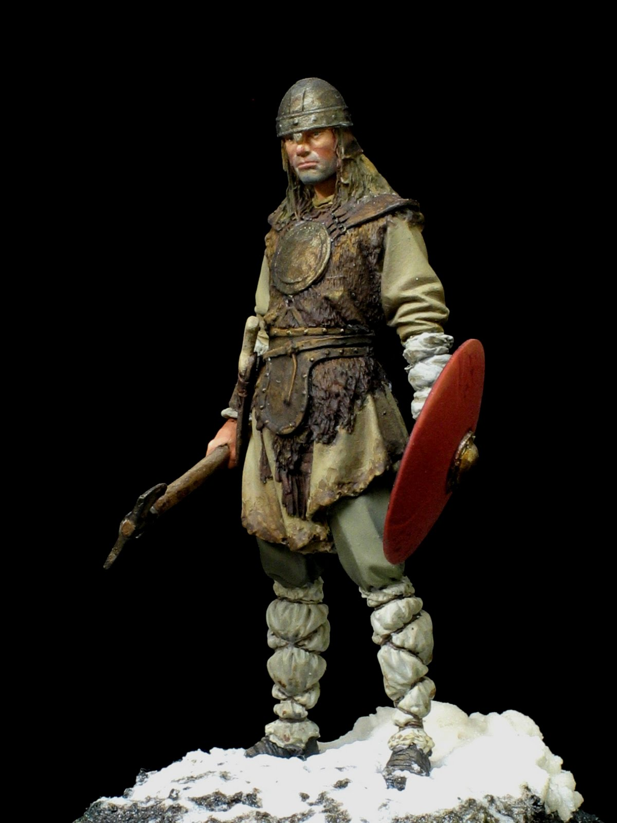 Saxon Warrior http://pohocaminiaturas.blogspot.com/2011/06/saxon-warrior.html