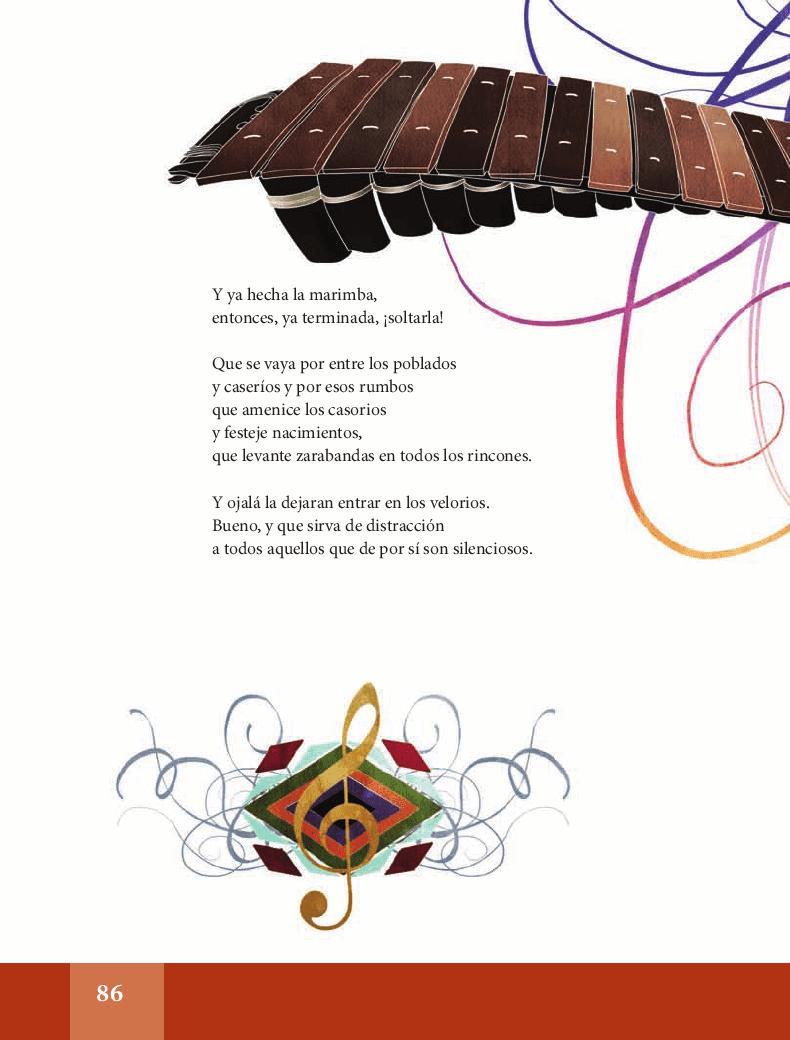 La marimba - Español Lecturas 6to 2014-2015