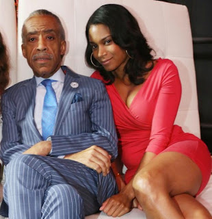 Al Sharpton With Girlfriend