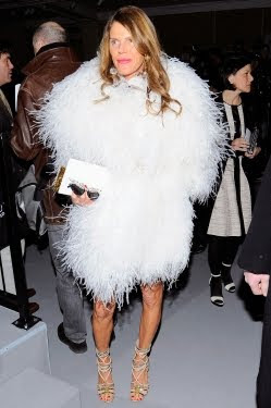 Anna Dello Russo - New York Fashion Week