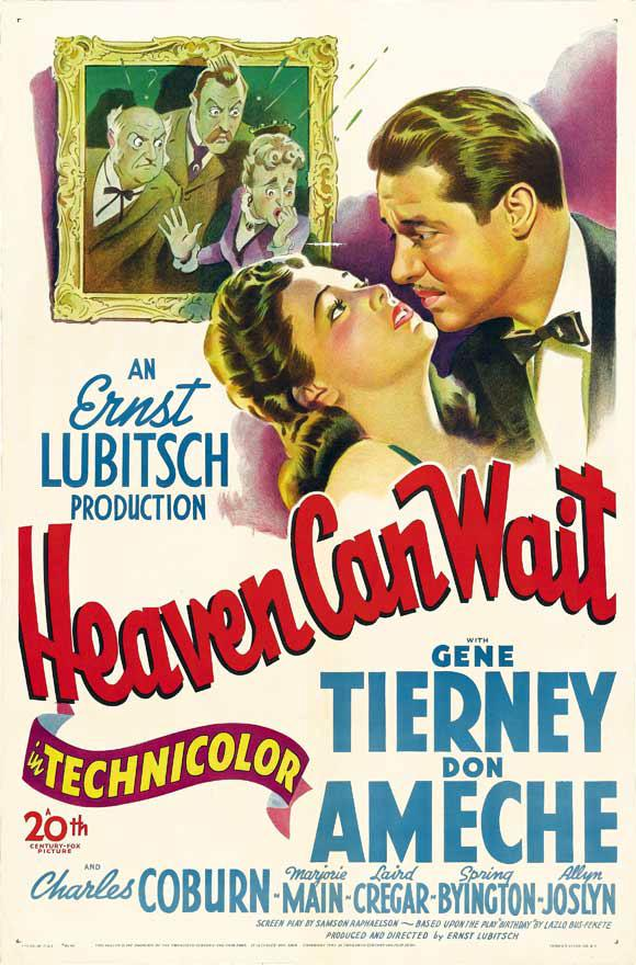 Heaven Can Wait (Ernst Lubitsch, 1943)