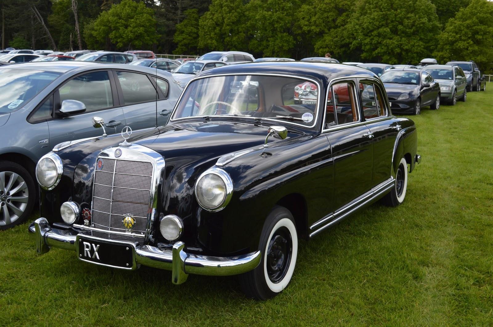 Dream Car Spotter Mercedes 220 1955