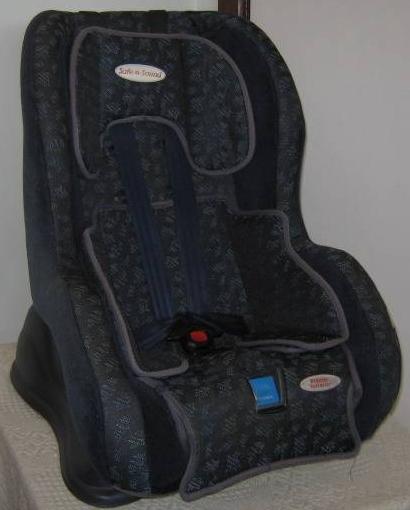 Free Baby Manuals: Safe n Sound Premier Retractor Car Seat 2004