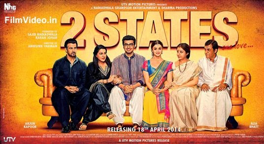 2 States Movie First Look Poster