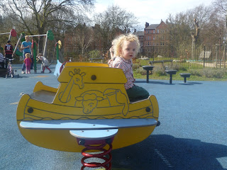Playground in Myatts Fields Park on vassallview.com