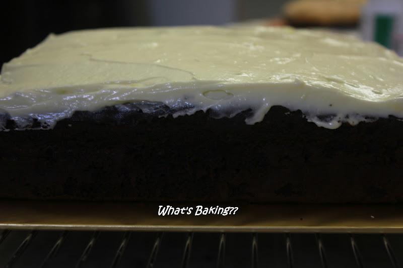 What's Baking??: Chocolate Yogurt Snack Cake