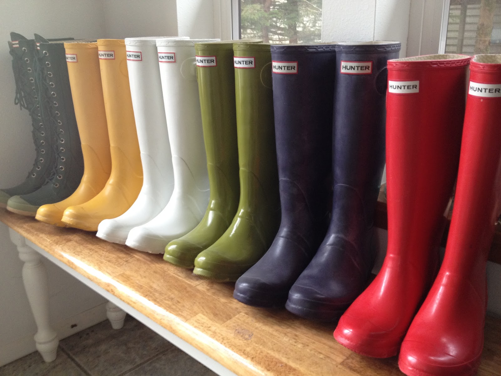 withtherain: Hunter Rain Boots What Color To Wear?