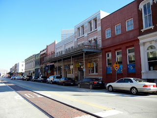 Walking in the Strand Historic District