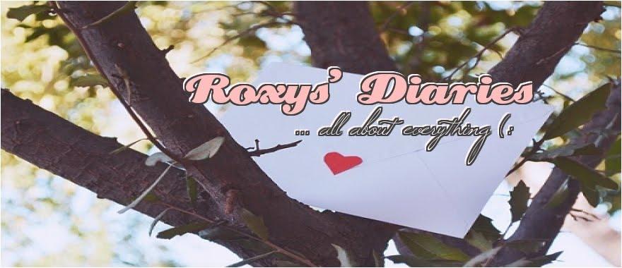 . Roxys' Diaries .
