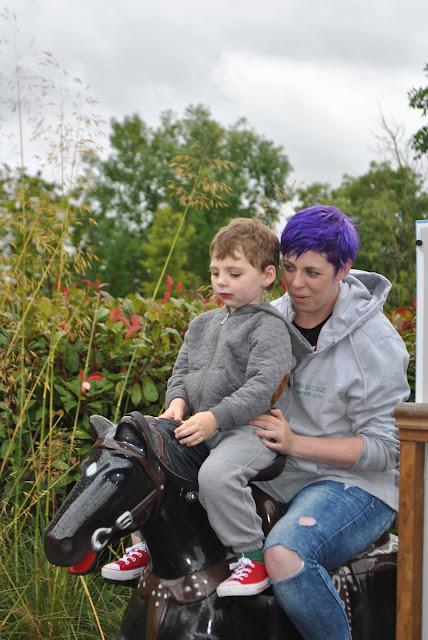 Tayto Park Pony Rail ride