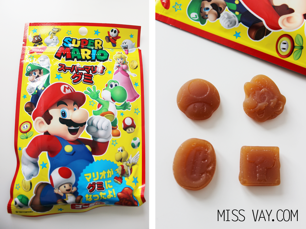 Candy Japan review bonbons super mario gummies nobel